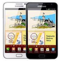 4g смартфон 5,7 дюйма оптовых-Оригинальный Восстановленное Samsung Galaxy Note N7000 5,3-дюймовый двухъядерный 1GB RAM 16RM ROM 8MP 3G разблокирована Android мобильного телефона Свободный DHL 1шт