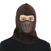 Wholesale bike head mask for sale - Group buy HobbyLane Outdoor Sleeve Cap Winter Warm Bicycle Face Mask Bike Climbing Skiing Windproof Thermal Polar Fleece Head Protector