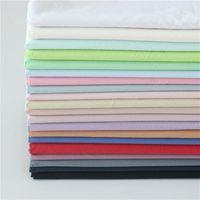 tecido de linho tingido venda por atacado-Camisas de verão tecido macio crepe dress tecidos de linho de algodão liso tingido diy hand made roupas