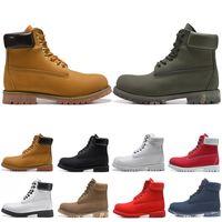 botas de tornozelo branco homens venda por atacado-timberland boots venda WGG Mulheres Botas de Neve Austrália Clássico Das Mulheres menina senhoras Tricô De Lã Rosa Vermelho Preto Inverno Ankle Boots