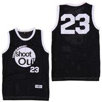 black out jersey achat en gros de-Tournoi de tournois Shoot Out 23 Motaw Wood Jersey 96 Birdie Tupac Noir Hommes Maillots De Basketball Au-dessus De La Jante Costume Double Piqué Sports