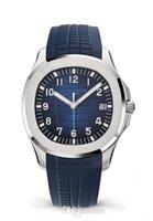 automatikwerk uhren für männer großhandel-2019 Luxus-Armbanduhren Aquanaut Automatik-Uhrwerk aus rostfreiem Stahl Komfort-Kautschukband originaler Verschluss Herrenuhr Herrenuhr