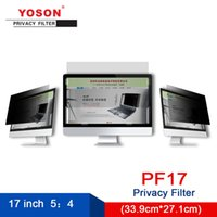 Wholesale china 17 inch laptop resale online - YOSON inch Standardscreen Computer Privacy Filter Anti peeping film mm mm