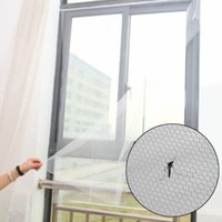 Wholesale insect hooks resale online - Home Summer Removable DIY Mosquito Screen Curtain Window Mesh Net Anti Insect Window Screen Protector