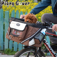Wholesale travel products accessories for sale - Group buy Pet Bicycle Carrier Bag Puppy Dog Travel Bike Carrier Seat For Small Dog Basket Products Travel Accessories