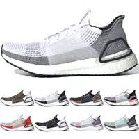 mejores zapatillas para correr al por mayor-Adidas 2019 Ultra Boost 5.0 Hombres Mujeres Zapatos para correr 19 Ultraboost Láser Rojo Oreo Core Negro Píxel oscuro Refractar Mejor Nuevo Zapatilla deportiva