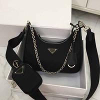 omuz çantası çanta askısı toptan satış-tasarımcı lüks çanta çanta Hono tuval malzeme omuz crossbody tasarımcı çantası PAD zincir askı seti PADA çantası