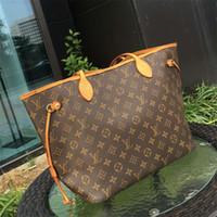 Wholesale wine leather shoulder bag resale online - designer handbags womens designer luxury handbags purses leather handbag wallet shoulder bag Tote clutch Women big backpack samll bags