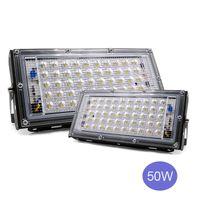50W LED Flood Light LED Street Lamp 110V 220V Waterproof Spotlight Landscape Lighting IP65 Led Spotlight