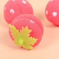 Wholesale sponge rollers diy for sale - Group buy 5PCS Balls Rollers Strawberry Curlers Hair Accessory Care Soft Sponge DIY Personal Fashion Hair Styling