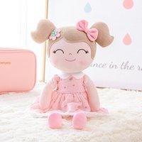 lumpenpuppen für babys groihandel-Gloveleya Plüsch-Puppen Frühlings-Mädchen Baby Doll Geschenke Erdbeere-Tuch-Puppen für Kinder Rag doll Plüschtiere Kawaii Y200111