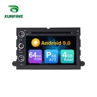 araba radyosu android ford toptan satış-Android 9.0 Çekirdek PX6 A72 Ram 4G Rom 64G Araba DVD GPS Multimedya Oynatıcı Araba Stereo FORD 500 / F150 / Explorer / Kenar / Sefer Radyo Ana ünite