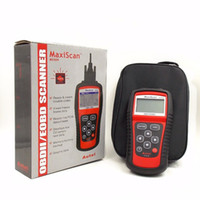 инструменты работы mitsubishi оптовых-MaxiScan Диагностический Инструмент MS509 Autel MS OBDII OBD2 EOBD Автомобильный Считыватель Кода Сканер Работа для США, Азиатско-Европейский Автомобиль