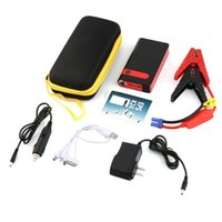 Wholesale multi function jump starter emergency for sale - Group buy General CY V mAh Portable Jump Starter Multi Function Car Emergency Power Bank Charger for Car