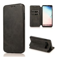 Wholesale stitch phone cases for sale – best For Huawei P30 Mate Pro Lite Leather Stitching TPU Material Strong Magnetic Absorption Protective Phone Case