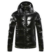 kaliteli parkalar toptan satış-Erkekler Down Palto WINDBREAKER Yüksek Kalite Marka Parkas Erkek Kadın ceketler Giyim Toptan doudoune Kış Erkek Tasarımcı ceketler Lüks