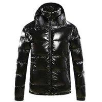 ingrosso giacca di alta marca giù uomini-Inverno Mens Designer Giacche lusso doudoune Uomini Giù cappotti Windbreaker marca di alta qualità parka Mens Donne Giacche all'ingrosso