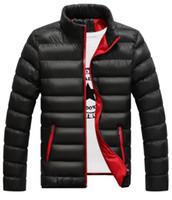 ingrosso inverno famosi uomini di marca di abbigliamento-2019 Moda Bianco dell'anatra giù inverno del rivestimento del cappotto di marca famosa Canada Parka uomo impermeabili uomo vestiti nel formato M-4XL