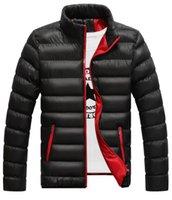 famosa marca de chaqueta abajo al por mayor-2019 Moda de pato blanca en invierno chaqueta de la capa famosa marca de Canadá Parka hombre impermeables para hombre ropa de tamaño M-4XL