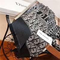 Wholesale towel material for sale - Group buy Hot style long towel day silk cotton material classic flower lady fashion decoration autumn and winter shawl