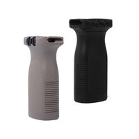 Wholesale picatinny accessories rails for sale - Group buy 2 Colors tactical Nylon Rail Vertical Grip Foregrip for mm Picatinny Rail System Paintball Accessories