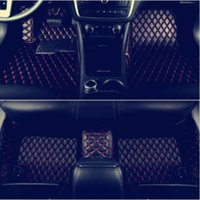 Wholesale custom bmw cars online - Custom For BMW i8 Car floor mat before after lining waterproof pad