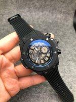 armbanduhren zum verkauf großhandel-Top-Verkauf Tag Qualität Uhren Männer Luxus Sportuhr Alle Zifferblatt arbeiten Automatische Mens Designer mechanische Armbanduhr Orologio di Lusso