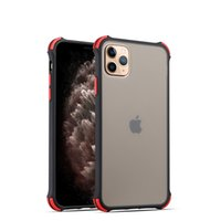 Wholesale iphone matte transparent case online – custom Ultra thin Shockproof Phone Case for Iphone Pro Max XS XR Transparent Matte Soft Case Four Corners Protection Full Cover