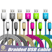 Wholesale type c usb data cable online – SKYLET USB Cable Fast Charging Data Sync Phone Cable Cords USB C Type C Micro USB for Universal Cellphones