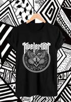 ingrosso farfalla ha ispirato la moda-KVELERTAK Camicia farfalla Heavy Metal Ispirato Design Nero Unisex T-Shirt Uomo Donna Unisex Moda tshirt Spedizione Gratuita nero