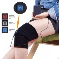 Wholesale knee support protector for sale - Group buy Outdoor Sports Kneepad Electric Heating Knee Pad Winter Thermal Therapy Arthritis Pain Relief Support Brace Protector Knee Pad