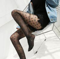 strumpfhosen verkauf großhandel-Heiße Verkaufs-Frauen Brief Silk Stockings GG Strumpfhosen Sexy Strümpfe Fashion Silk Socken Transparent Grid Socke