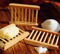 poseedores de aromas al por mayor-Nueva originalidad hogar caja de jabón de madera Alta calidad Jabonera aroma fresco natural Jabonera