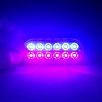 Wholesale flash dash car for sale - Group buy LEDs Flashing Emergency Modes Car Truck Dash Strobe Flasher v Daytime Running Warning Light At Night JK0750