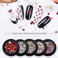 Wholesale diy beautiful nails resale online - Women Beautiful Shiny Diamond Jewelry Decor Nail Tip DIY Fashion Manicure Accessory