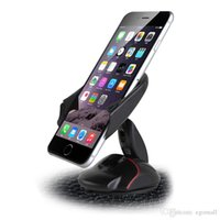 suporte para telefone mãos livres venda por atacado-Nova Vinda Ventosa Universal Pára Sapato Titular Do Telefone Do Carro de Uma Mão Do Telefone Móvel Titular do Carro Livre DHL