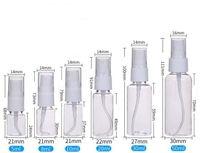 Wholesale best essentials oils resale online - hot best ML ML ML ML ML Transparent Plastic Spray Bottle Atomizer Pumps For Essential Oils Travel Perfume Bulk Portable Makeup