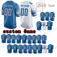 a12a61225 custom Game Detroit Lion Jersey 15 Golden Tate 21 Ameer Abdullah 85 Eric  Ebron 59 Tahir Whitehead 13 TJ Jones 11 Marvin Jones Jr. Jerseys