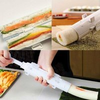 Wholesale sushi maker mould moulding for sale - Group buy Sushi Bazooka Tube Shaped Rice Roller Mould DIY Kitchen Appliance Sushi Maker