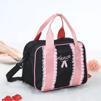 Girls Fashion Lace Adorable Ballet Tutu Dance Bag Embroidered Ballerina  Dancing Duffle Bag Handbag Shoulder Bag f0eb2e0a3ff29