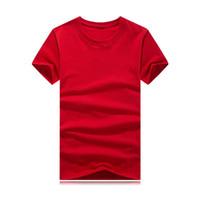 schnelles foto großhandel-REAL PHOTOS 2019 Fashion Striped Herren Designer T-Shirts Quick Dry Herren T-Shirt Kurzarm Laufen T-Shirt Top Tees Tide Brand Wholesale