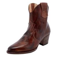 rahat mid buzağı botları toptan satış-2019 Casual Platformu Botines Mujer MoneRffi Yüksek Kaliteli Vintage Kadınlar Boots Düşük Topuklar Toka Kovboy Orta Buzağı Boots Moda