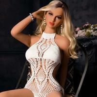 nuevas muñecas de los hombres del sexo al por mayor-Nueva silicona real 158cm muñeca del sexo realista pecho grande / pequeña cintura muñeca del sexo para los hombres con amor realsize sexo / vagina / ano orales