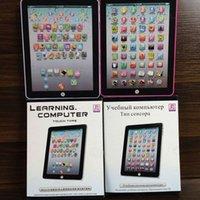 образовательный английский планшет оптовых-Дети дети английский обучение Pad игрушка образовательный компьютер ЖК-планшет обучение станки дети ноутбук Pad интеллект игрушки подарок z288