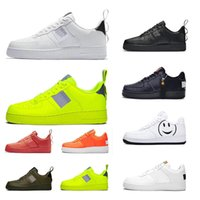 Wholesale light platform for sale - Group buy 2019 New Arrivals Running shoes for men women utility Volt black white platform shoe Sports Sneakers mens traniers Skateboard size