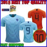 Netherlands 2018 2019 soccer jersey home 18 19 European National League away  Virgil V.PERSIE SNEIJDER MEMPHIS WEGHORST football shirts 9a8186d6b