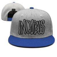 mavi sabah toptan satış-Incubus-Morning-View erkek mavi snapback basketbol sporları bağbozumu takımı retro şapkalar