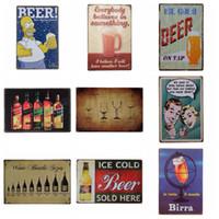 teneke kutu işareti kahve dükkanı bar toptan satış-304 metal afişlerin Tatlı kahvehane duvar dekorasyonları Vintage Ev Dekorasyonu Kalay Bar Pub Dekoratif Metal Retro fotoğraf çerçevesi Sign tasarımları