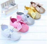 baby mädchen erste wanderer schuhe großhandel-2019 NEUE Baby-Schuhe für den Sommer neugeborenes Kind-Kleinkind-Jungen-Schuhe Erste Wanderer Baby-rutschfeste Schuhe