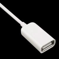 ingrosso otg plug-Moda 3,5 mm maschio AUX Audio Jack Jack per cavo di prolunga USB USB 2.0 Convertitore Cavo Cable Car MP3 OTG